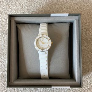 OCEANAUT white and gold watch, never worn before